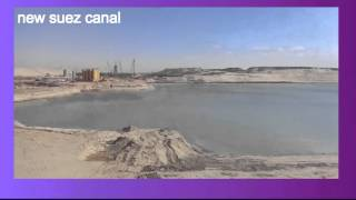Archive new Suez Canal: a scene in February 15, 2015