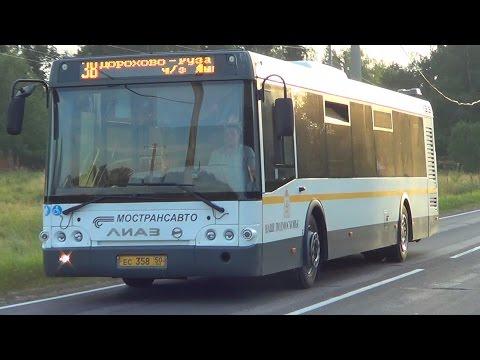 """Автобус ЛиАЗ-5292.60 """"Наше Подмосковье"""", д. Нестерово"""