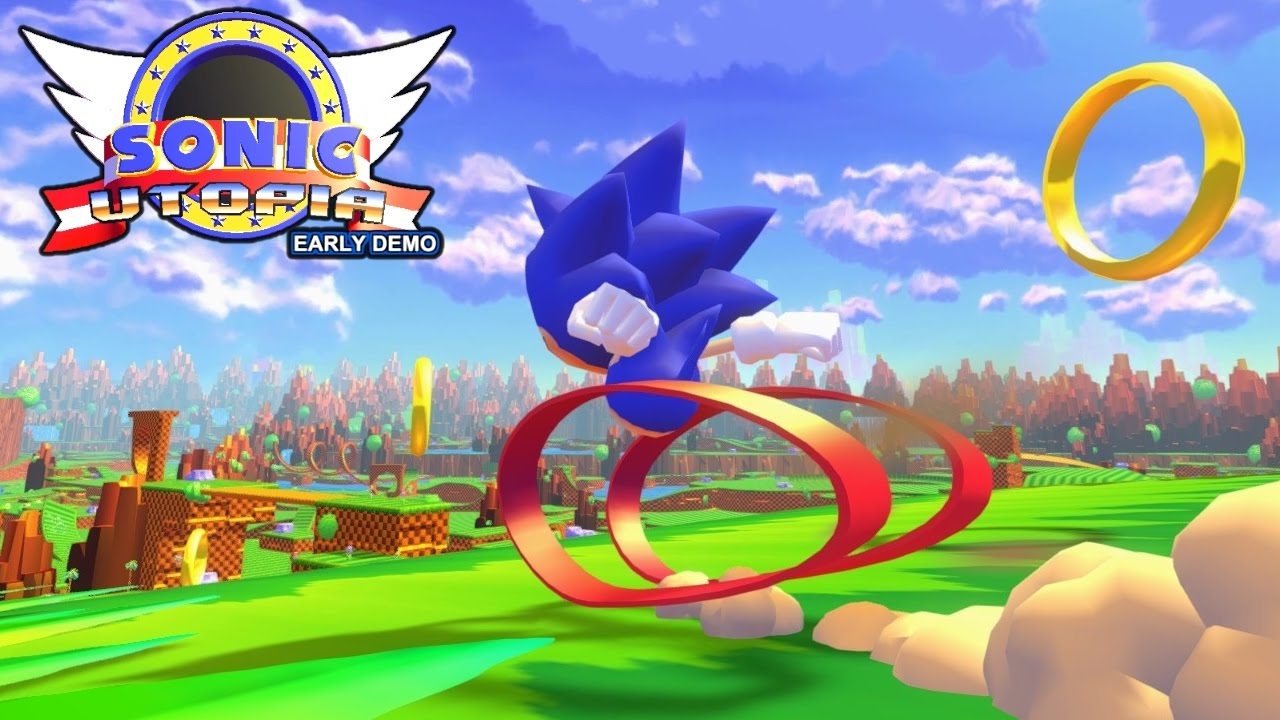 Sonic utopia early demo no commentary gameplay youtube reheart Gallery