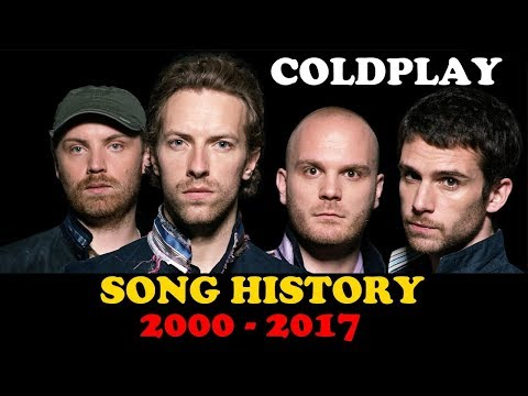Coldplay | Song History (2000 - 2017) | ChartExpress