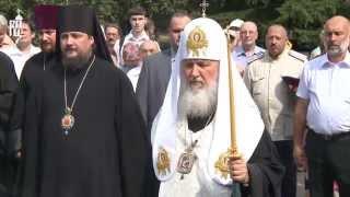 Патриарх Кирилл совершил литию в Мемориально-парковом комплексе героев Первой мировой войны