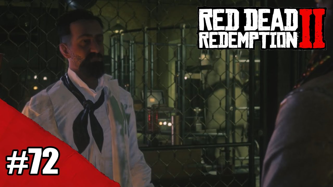 Ajudando o Professor Dragic / Red Dead Redemption 2 #72 (Legendas em PT-BR)