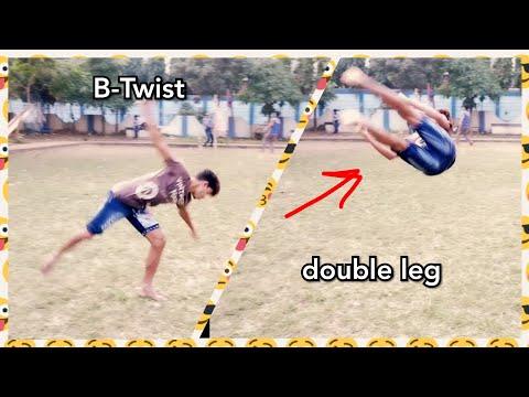 B-twist double leg tutorials in hindi...KOLKATA TIMES