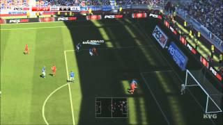 PES 2014 - Portugal vs. Italy Gameplay [HD]