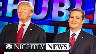 NBC News Poll Finds Trump and Cruz in Tight Race, Kasich Surges | NBC Nightly News