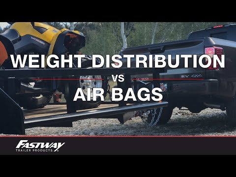 The Difference Between Using Weight Distribution and Air Bags to Level Your Load
