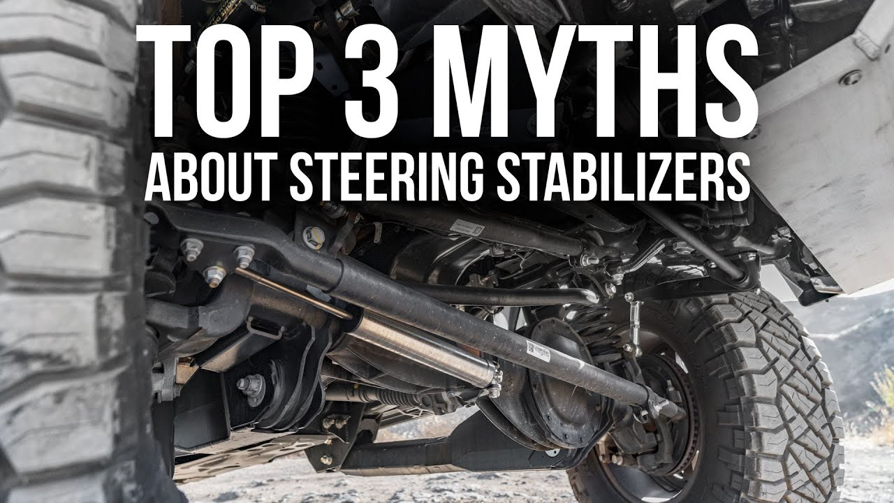 Top 3 Steering Stabilizer Myths BUSTED | What You Need to Know