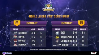 BOOM.ID VS LOUVRE - IPWC MOBILE LEGEND 2ND SERIES