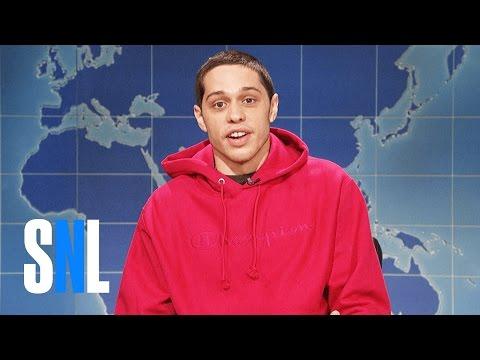 Weekend Update: Pete Davidson on Being Sober - SNL