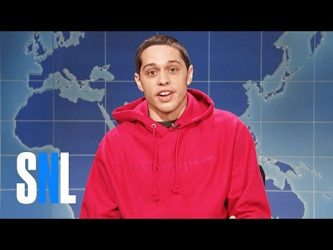 weekend-update:-pete-davidson-on-being-sober---snl