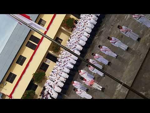Paskibra Madrasah Amaliyah Sunggal dalam rangka 17agustus2017