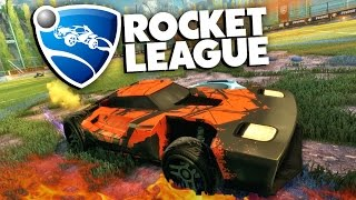 Rocket League - Безумный футбол! #1