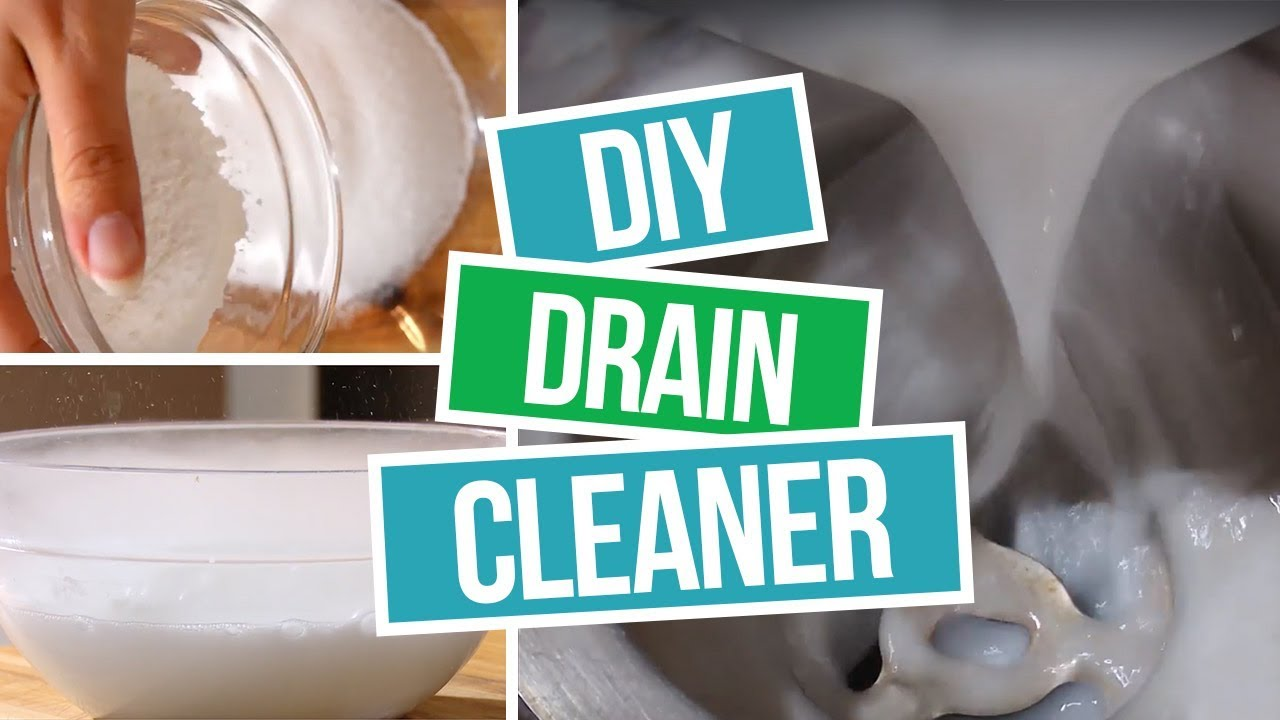 How to Make DIY Drain Cleaner - A