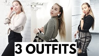 LOOK BOOK // 3 OUTFITS