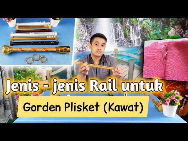 RAIL KHUSUS UNTUK GORDEN MODEL PLISKET (KAWAT) | GudangGorden.id