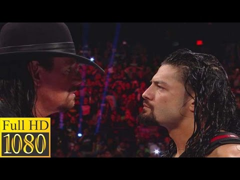 March 6, 2017 Raw  Roman Reigns has a chilling encounter with The Undertaker