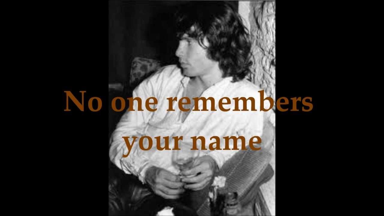 sc 1 st  YouTube & The Doors - People Are Strange Lyrics - YouTube