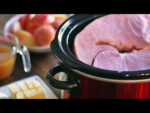 Slow Cooker Crock Pot Ham Recipe