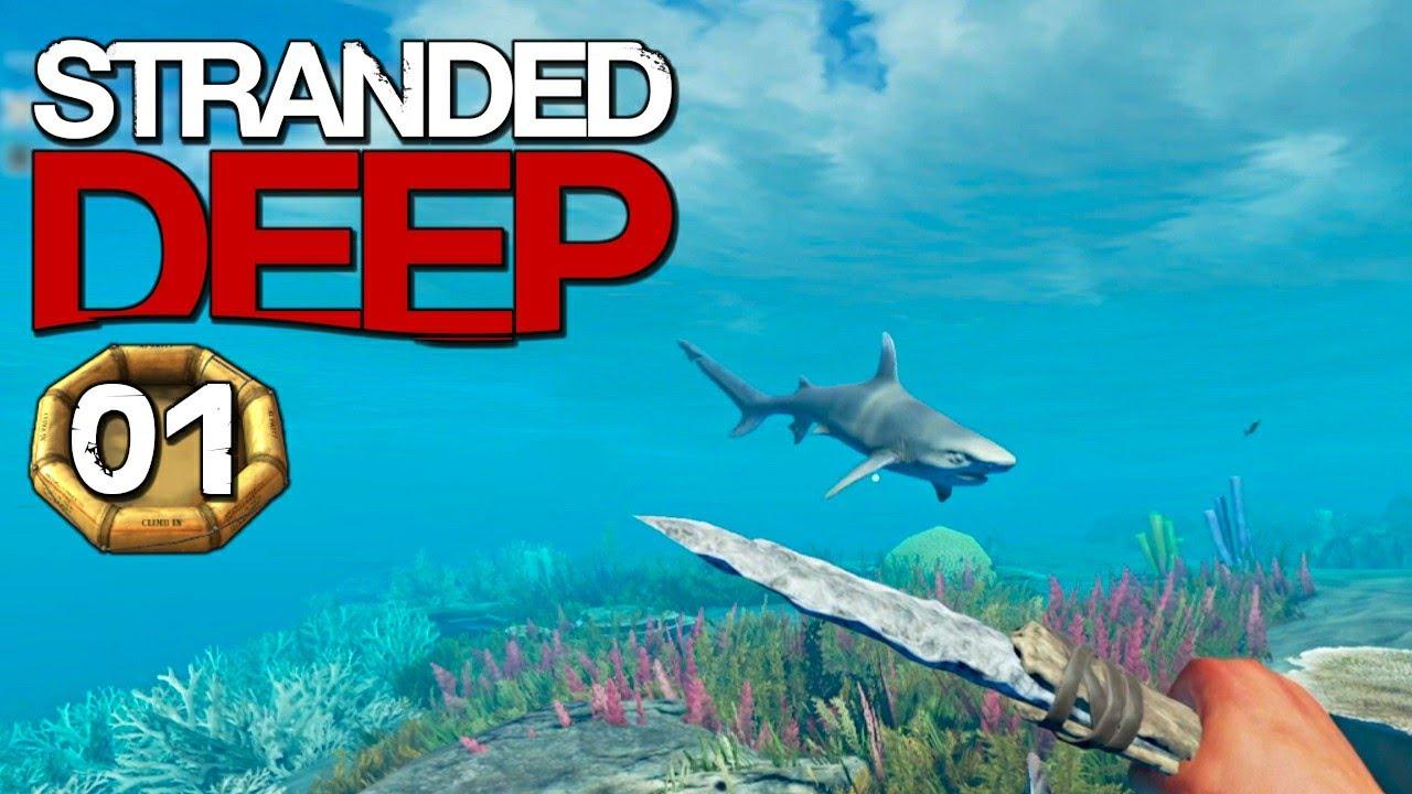 STRANDED DEEP #S01E01 🛶 Einsam und Allein | Let's Play Stranded Deep