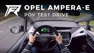 2018 Opel Ampera-e - POV Test Drive (no talking, pure driving)