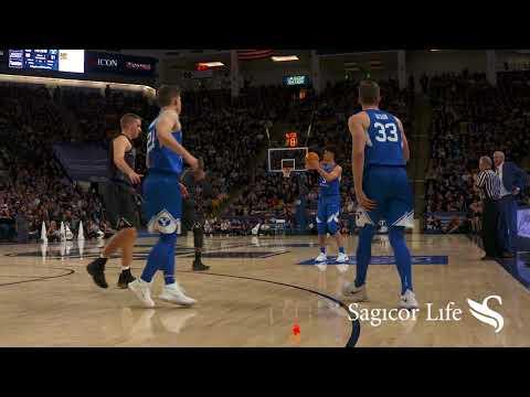 Men's Basketball - BYU vs. Utah State December 2, 2017