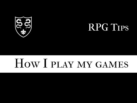 Solo RPGs: How I play my games