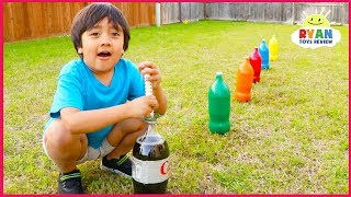 Top 10 Science Experiments you can do at home for kids with Ryan ToysReview! thumbnail