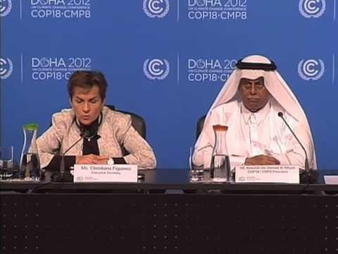 Doha closing briefing by Christiana Figueres