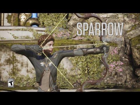 видео: paragon - Минутный Обзор Героя -Спэрроу (sparrow)