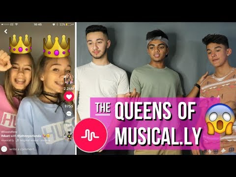 OFFICIAL QUEENS OF MUSICAL.LY // Lisa and Lena Musical.ly Compilation (REACTION)