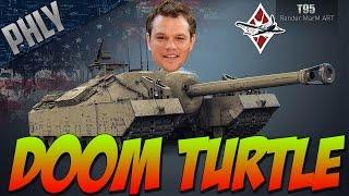 War Thunder Tanks- T-95 DOOM TURTLE - Funny Tank GAMEPLAY!