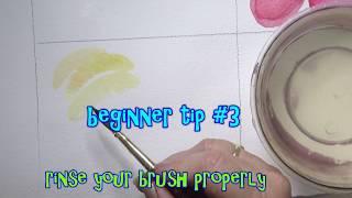 #3 Rinse the Brush thoroughly