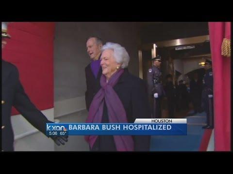 Barbara Bush hospitalized