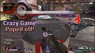 Crazy game of Apex Legends we carry our teamate