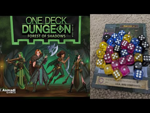 Blue Boards: One Deck Dungeon Forest of Shadows  