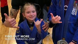 This is what happens, when a 6-year old Jiu-Jitsu world champion executes a game-plan