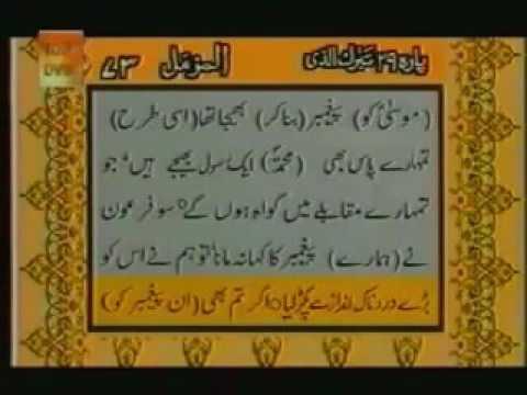 Surah Al Muzammil With urdu Translation Full
