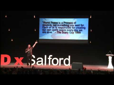 The new face of love: The Scary Guy at TEDxSalford