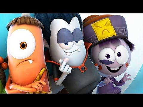 Funny Animated Cartoon | Spookiz - Special Compilation 201-226 스푸키즈 | Cartoon for Children