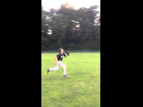Garrett Gagnon Outfield Fielding Clip 2