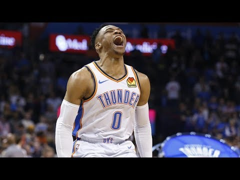 Russell Westbrook 20-20-20 2nd in NBA History! 2018-19 NBA Season thumbnail