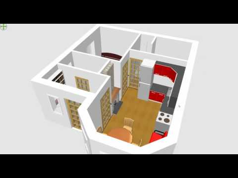 Уникальная планировка домика 6х6