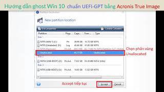 ghost Win 10 chuan UEFI-gpt