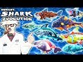 ALL 8 SPECIAL SHARKS (WERESHARK) (HUNGRY SHARK EVOLUTION)
