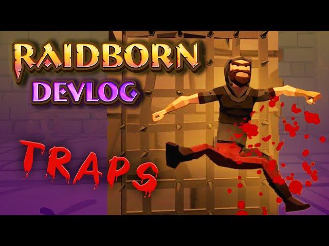 Raidborn Devlog (2019) | NPCs Will Fear This Nasty Trap