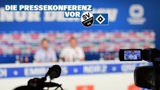 Die Pressekonferenz vor dem Auswärtsspiel beim SV Sandhausen