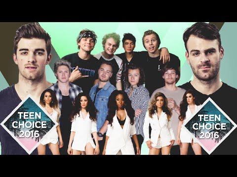 Nominees Teen Choice 2016 | Choice Music Group