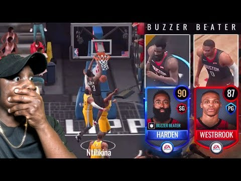 90 OVR HARDEN & WESTBROOK ARE HACKS! NBA Live Mobile 20 Gameplay Ep. 7