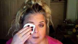 Lancôme Double Action eye makeup remover demo