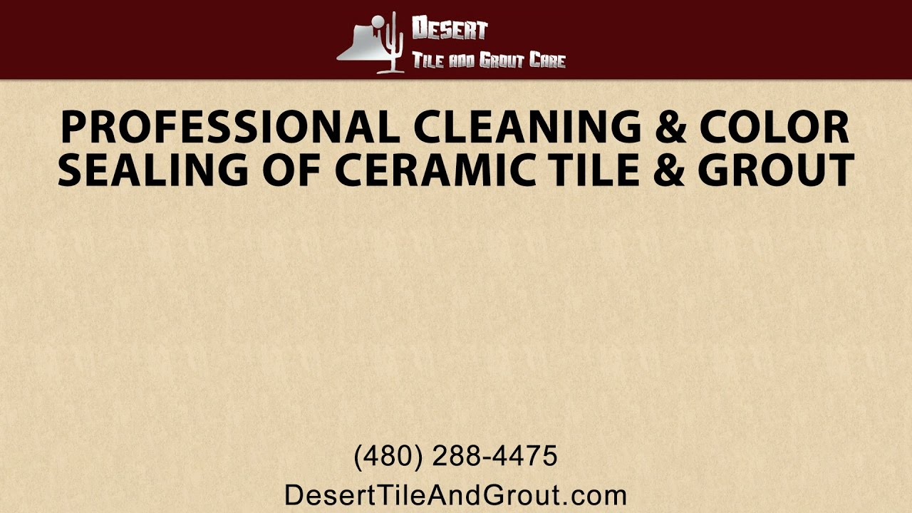 Professional cleaning and color sealing of ceramic tile and grout professional cleaning and color sealing of ceramic tile and grout dailygadgetfo Gallery